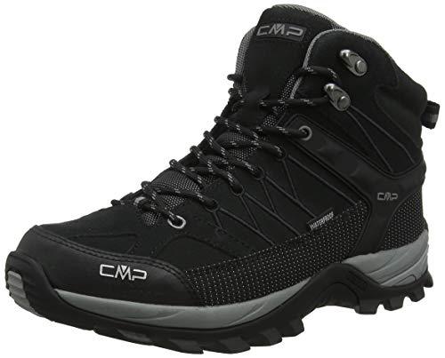 CMP - F.lli Campagnolo Herren Rigel Mid Trekking- & Wanderstiefel, Schwarz (Negro-Grey 73uc), 44 EU