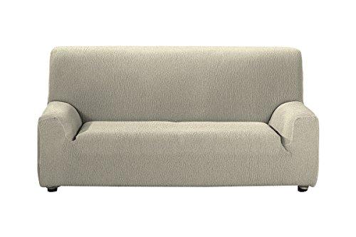 Casa Textil Daniela - Funda para sofá, 3 plazas, color beige