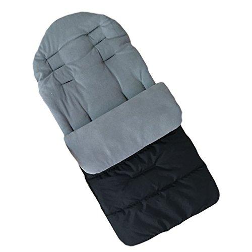 Jiele coprigambe universale confortevole caldo toe copertura invernale antivento sacco nanna bambino carrello cotone cuscini sedile antiscivolo