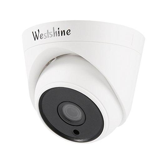 Westshine 1080P Sorveglianza Telecamera di Sicurezza CCTV Dome Camera,1/2.7' Sensor 3.6mm 36 IR LED 100ft visione notturna