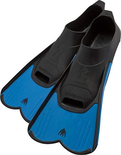 Cressi Light, Pinne Corte Leggere e Potenti per Nuoto e Snorkeling Unisex, Blu, 33/34