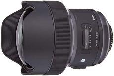 Sigma 450955 - Objetivo réflex 14 mm F1.8 DG AF HSM ART para Nikon, Negro