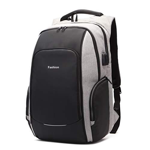 Xnuoyo Laptop Zaino Antifurto, 15,6 Pollici Impermeabile Zaino Porta PC con Porta USB di Ricarica...