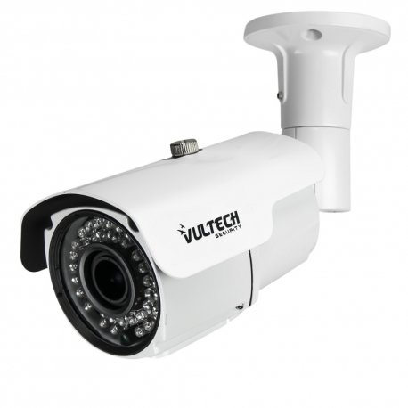VulTech Security CM-BU960AHDV-B Telecamera, Bullet, Varifocale, AHD, 1/3', 1.3 mpx, 960 p, 2.8-12 mm, LED IR, 42 Pezzi, 40 m, Bianco