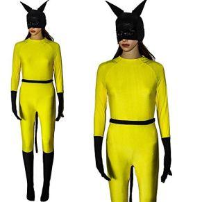 CHANG Traje De Cosplay Hellcat Marvel Right Navidad Halloween Disfraces para Niños/Adultos Usar PelíCula,XXXL