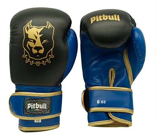 Pitbull Guanti Boxe Junior GL 31 8 OZ Nero | Guanti Kick Boxing 8 Once | Guanti Muay Thai 8 Once