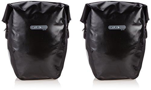 Ortlieb Back-Roller City - Juego de bolsas para parte trasera de bicicleta (2 unidades x 20 L)