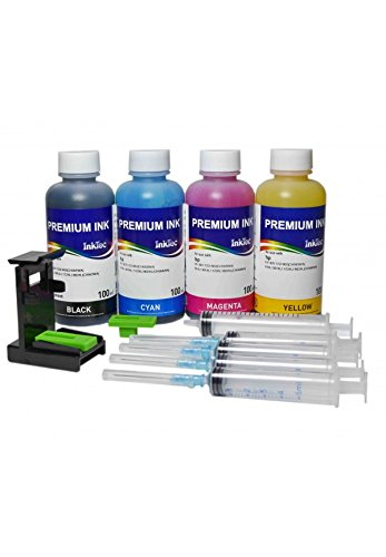 Kit di inchiostro InkTec specifo per cartucce HP-303 compatibile con stampanti Envy Photo 6232...