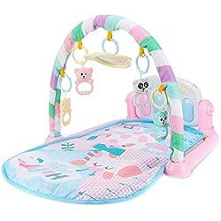 Wildlead Juguetes del bebé,Niños Niños Juguetes del bebé del Estante de la Aptitud Manta de música para Piano Jugar Plastic Intelectual Development ... (3)