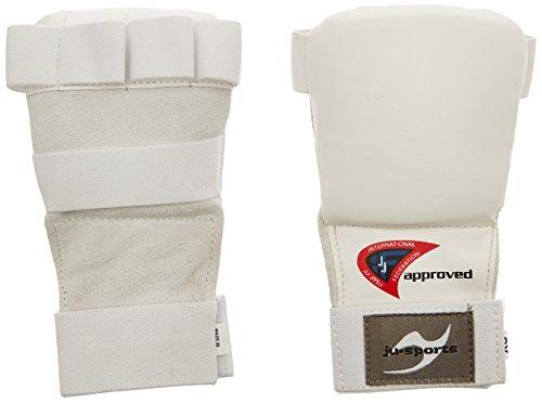 Ju-Sports Pro - Guanti da ju-jitsu, bianco (bianco), Taille M