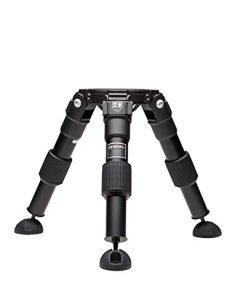 Benro HH100AV - Trípode Aluminio 100mm Video Hi-Hat, 2 Secciones, Color Negro