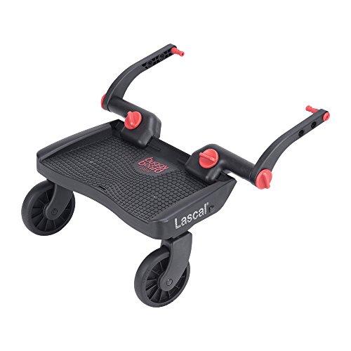 Lascal BB13071 Buggyboard Pedana Mini 3D Universale per Passeggino e Carrozzina, Rossa