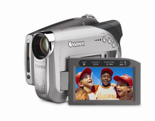 Canon DC22 2.2MP DVD Camcorder with 10x Optical Zoom (Discontinued by Manufacturer)
