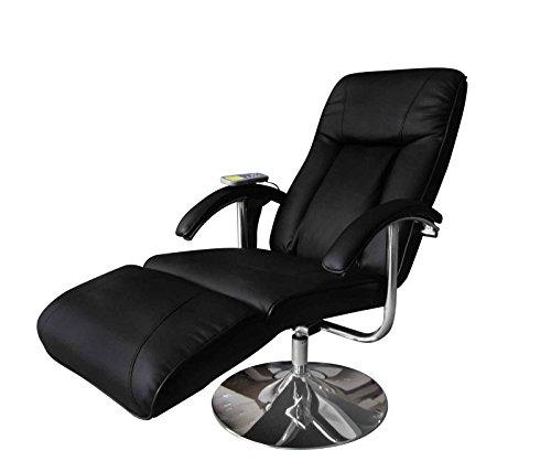 vidaXL Massage- und Relaxsessel, elektrisch schwarz