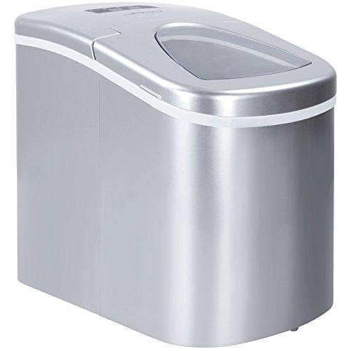 Jago - Máquina para hacer hielo con pala para cubitos – volumen aprox. 2,2 litros