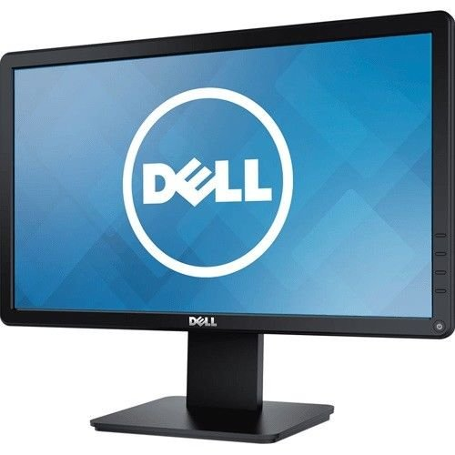 Dell 18.5 inch (47 cm) LED Backlit Monitor - HD Ready, TN Panel with VGA, HDMI Ports - D1918H (Black)