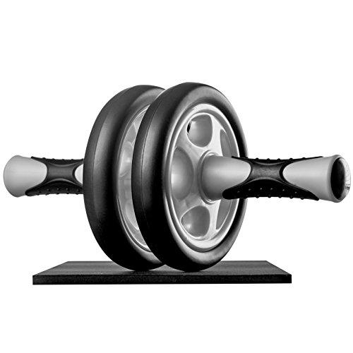 Ultrasport Ab Roller Attrezzo fitness maneggevole e trainer per muscoli addominali con supporto per...