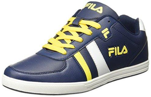 39a3967d2839 Fila Men s Winston Navy Yellow White Sneakers – 7 UK India (41 EU)(11005402)