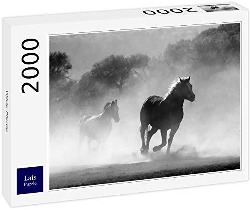 Lais Puzzle Cavalli Selvaggi 2000 Pezzi