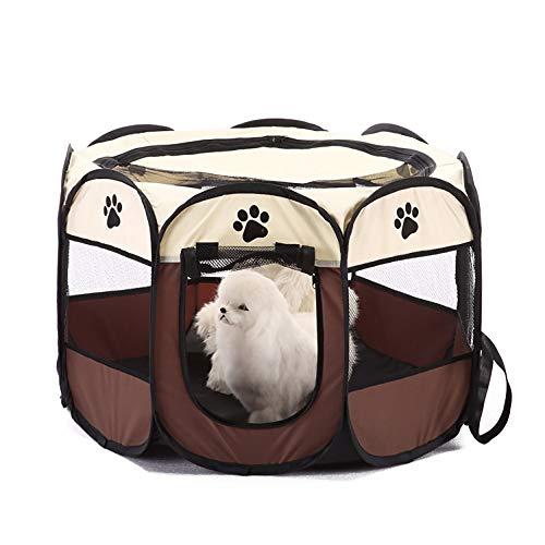 JB-Gabbiette Box per Cani Esercizio per Cani da canile Portatile Pieghevole Portatile per Piccoli...