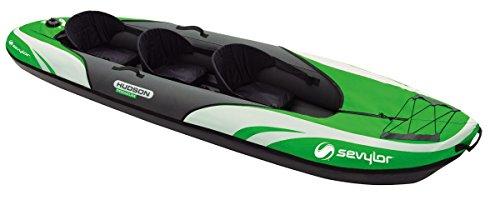 Sevylor Hudson Premium - Kayak y Canoa - 3P Verde/Negro 2016