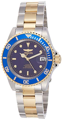 Invicta Pro Diver Unisex Wrist Watch Stainless Steel Automatic Blue Dial - 8928OB