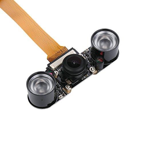 Raspberry Pi zero fotocamera fisheye grandangolare 5MP 1080p Night Vision telecamera modulo per Raspberry Pi zero W