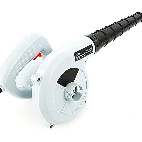 ZYRAY Soplador de Aire eléctrico 600W Soplador de Hojas Se Puede Usar como aspiradora para Muebles de computadora y automóviles, Blanco
