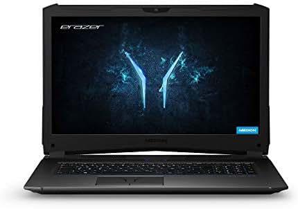 MEDION ERAZER X7855 43,9 cm (17,3 Zoll) Full HD Gaming Notebook (Intel Core i7-7700HQ, 1TB HDD, 16GB SSD, NVIDIA GeForce GTX 1060 Grafik mit 6 GB GDDR5 VRAM, Win 10 Home)
