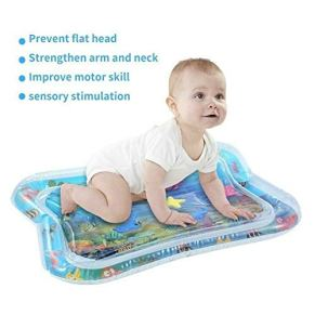 Yangyme Alfombra de Juego para Bebés Cojín patted Inflable del bebé, tapete de Juego Lleno de Agua del Amortiguador for los niños