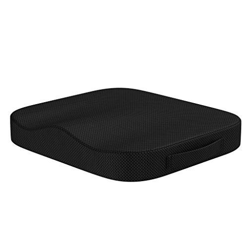 bonmedico Comfort Cushion, Cuscino da Seduta Ergonomico, Cuscino da Sedia Comodo in Memory Foam Innovativa, Cuscino per Seduta Universale