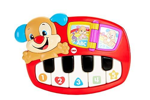 Fisher Price- Pianoforte del Cagnolino, Giocattolo Musicale, Adatto per Bambini dai 6 Mesi,...