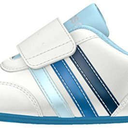 adidas – V Jog Crib, Scarpe da Ginnastica Unisex – Bimbi 0-24
