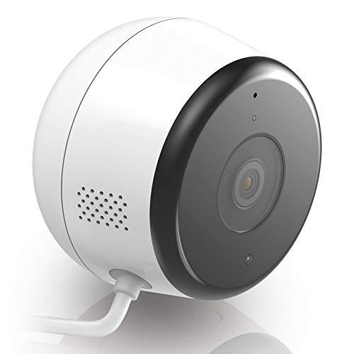 D-Link DCS-8600LH Telecamera di Sorveglianza da Esterno Full Hd, Audio Bidirezionale, Registrazione Cloud, Rileva Suoni e Movimenti, Bianco