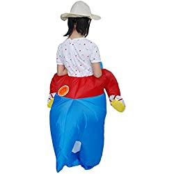 JERFER Juguetes Inflables Mono Fiesta Disfraces Inflables Carnaval Ropa Divertida Dinosaurio Tirano Saurio Rex Cosplay