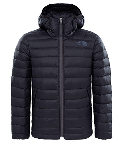 The North Face Aconcagua - Piumino con Cappuccio, Isolante, per Bambini, Bambino, 3NIA, Night Green, M