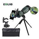 ESSLNB Cannocchiale 25-75X70 Cannocchiale Professionale con Tripode Adattatore Telefonico e Borsa BAK4 Completamente Multistrato Porro Prisma per Tiro a Segno Birdwatching