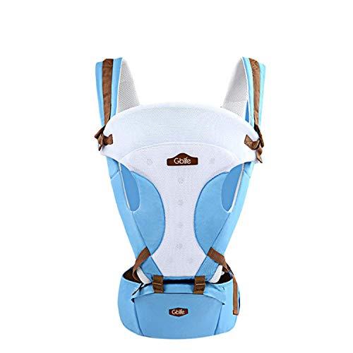 GBlife Marsupio Neonato Ergonomico Regolabile per Baby Carrier confortevole e Respirante Fascia...