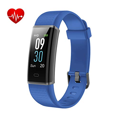 Fitness Tracker Yuanguo Orologio Fitness Bracciali Impermeabile IP68 Nuoto Cardiofrequenzimetro da...
