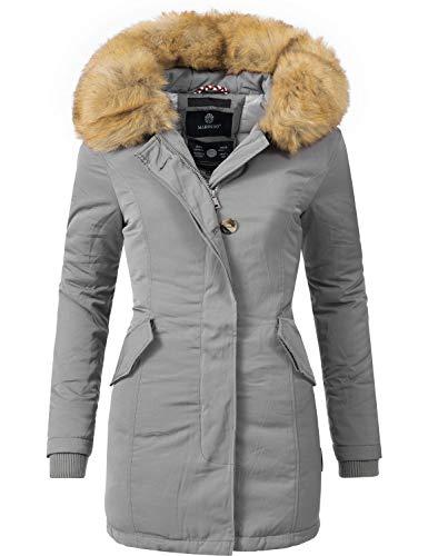 Marikoo Karmaa Cappotto Invernale da Donna XS-5XL Grigio S
