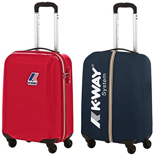 K-Way System Mini Trolley Rosso Uni