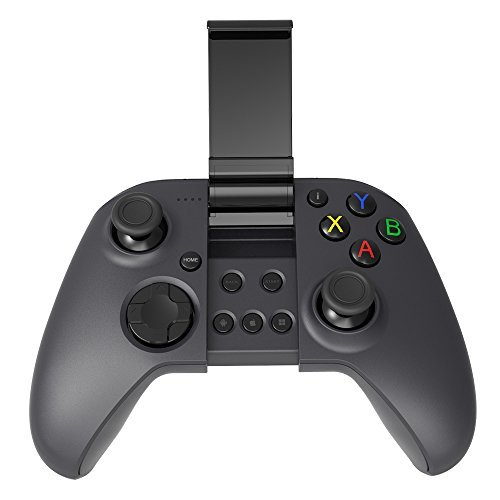 MYGT C04 Wireless Bluetooth Gamepad Controller for PC, PS3, Android devices and Mobile phones (Does not support PUBG & Fortnite Games) Black 15