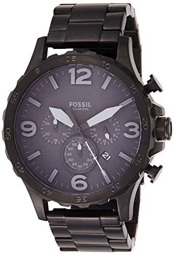 Fossil Orologio Cronografo Quarzo Uomo con Cinturino in Acciaio Inox JR1401