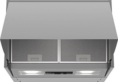 Neff DMAC611X 360 m³/h Cappa aspirante a parete Argento D