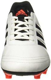 low priced 7b668 135fb Adidas Mens Goletto Vi Fg FtwwhtSolredCblack Football Boots – 9 UKIndia  (43 EU)