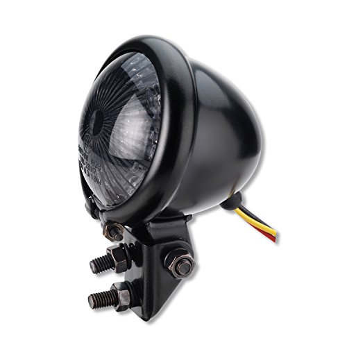 LED Motorrad Rücklicht Bates schwarz Smoke getönt universal e-geprüft - Germany Motorsports