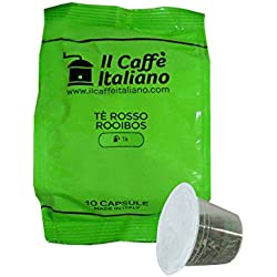 50 Cápsulas de té compatibles Nespresso - Té rojo - Il Caffè italiano