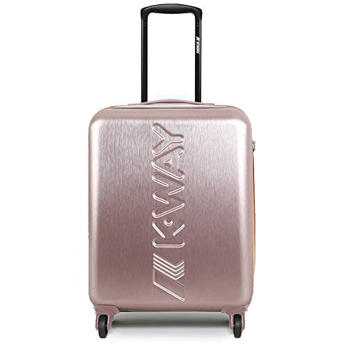 Trolley K-Way k-air metal cabin size spinner rosegold