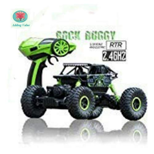 MTC 2.4Ghz 1/18 RC Rock Crawler Car 4 WD Shaft Drive High Speed Remote Control Monster Off Road Truck. Colour of The Truck and Remote May Vary