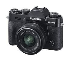 Fujifilm X-T30, Kit cámara con Objetivo Intercambiable XC15-45/3.5-5.6, Color Negro